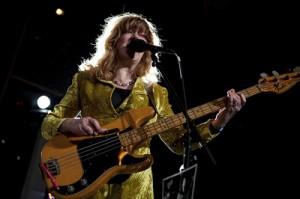 The Raincoats Gina Birch performs at MoMA, November 20, 2010