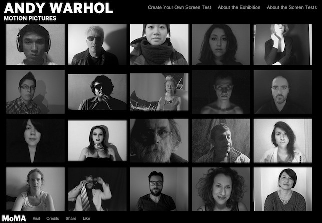 Andy Warhol exhibition site
