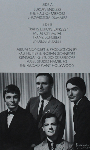 Kraftwerk. Trans-Europe Express (American version). 1977. Kling Klang Records