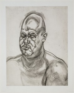 Lucian Freud. Large Head