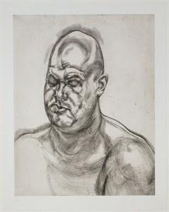 Lucian Freud. Large Head