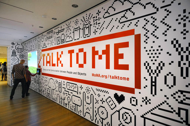 Moma tag talk to me design and the communication for Pixel people interior designer