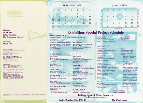 The Refrigerator Calendar