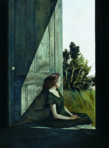 Andrew Wyeth, Christina Olson (1947). Curtis Galleries, Minneapoli