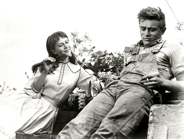 James Dead Julie Harris East of Eden. 1955. Directed by Elia Kazan