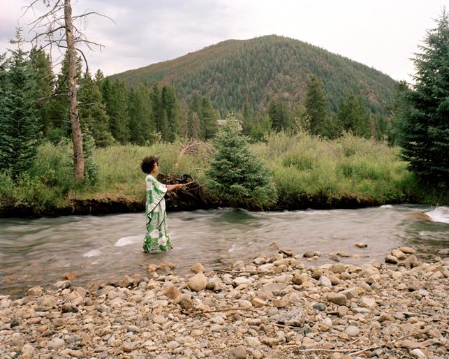 Xaviera Simmons. Denver. 2008. Color Photograph