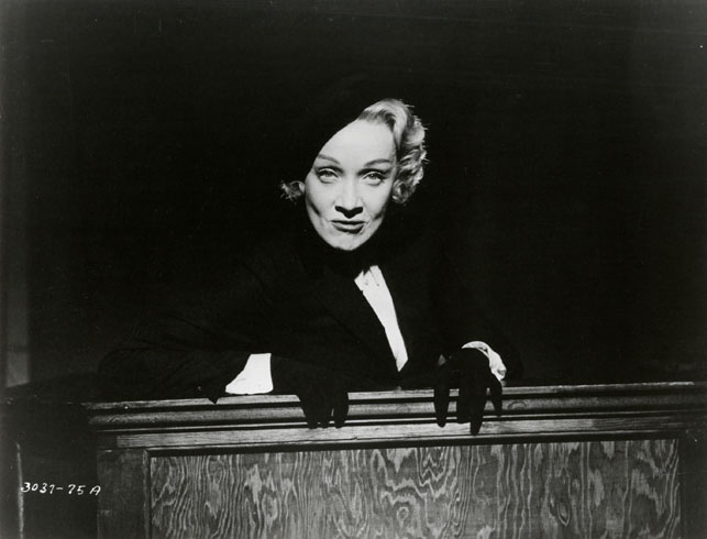 film Marlene Dietrich Witness for the Prosecution. 1957. USA. Directed by Billy Wilder