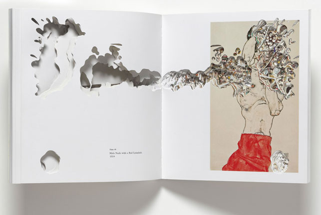 Noriko Ambe. CUT: Egon Schiele. 2009. Artist's book. The Museum of Modern Art, New York. Fund for the Twenty-First Century. © 2013 Noriko Ambe.