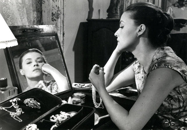 film Jeanne Moreau in The Lovers. 1958. France. Directed by Louis Malle