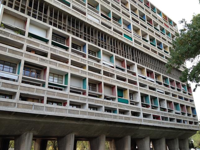 Le Corbuiser. Unite d'Habitation. 1947-1952.