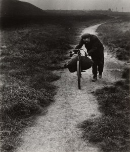 "Bill Brandt. Coal Searcher Going Home to Jarrow. 1937. Gelatin silver print, printed 1960s, 9 x 7 3/4"" (22.9 x 19.7 cm). Gift of Robert M. Doty. © 2013 Bill Brandt Archive Ltd."