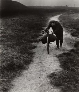 "Bill Brandt. Coal Searcher Going Home to Jarrow. 1937. Gelatin silver print, printed 1960s, 9 x 7 3/4"" (22.9 x 19.7 cm). Gift of Robert M. Doty. © 2013 Bill Brandt Archive Ltd."