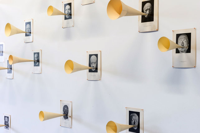 David Moreno, Silence, 1995-2012, Installation view 2 Sao Paulo Biennial 2012