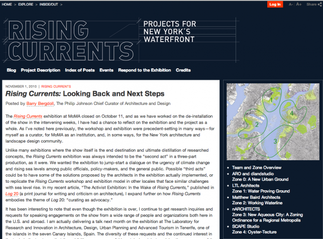 Rising Currents Homepage