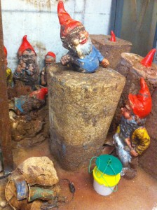 Chocolate and garden gnomes at Roth's Schimmelmuseum, Hamburg