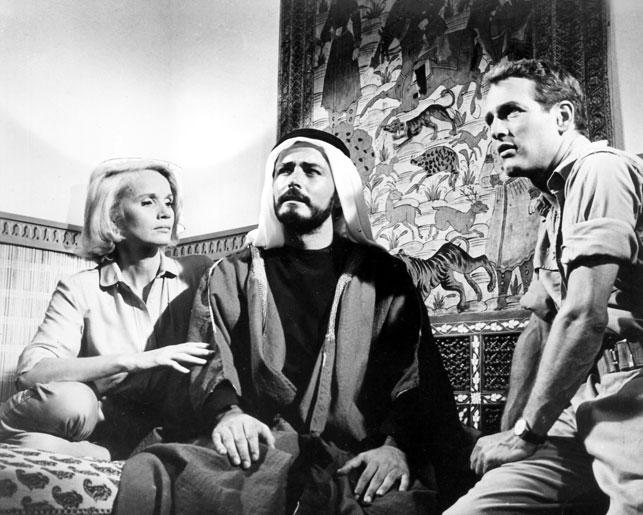 Paul Newman, Eva Marie Saint, and John Derek in Exodus. 1960. USA. Directed by Otto Preminger
