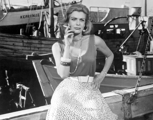 Melina Mercouri Never on Sunday. 1960. Greece. Jules Dassin