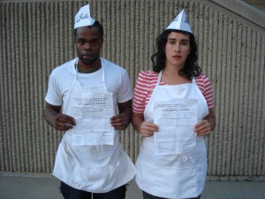 Tychist Baker and Lauren Melodia of Milk Not Jails. Photo courtesy of Milk Not Jails.