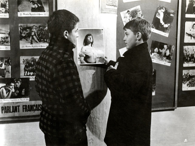 The 400 Blows. Directed by Francois Truffaut