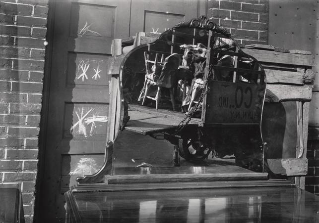"Walker Evans. Moving Truck and Bureau Mirror. 1929. Gelatin silver print. 4 7/16 x 6 5/8"" (11.3 x 16.9 cm).  David H. McAlpin Fund. (c) 2013 Walker Evans Archive, Metropolitan Museum of Art"