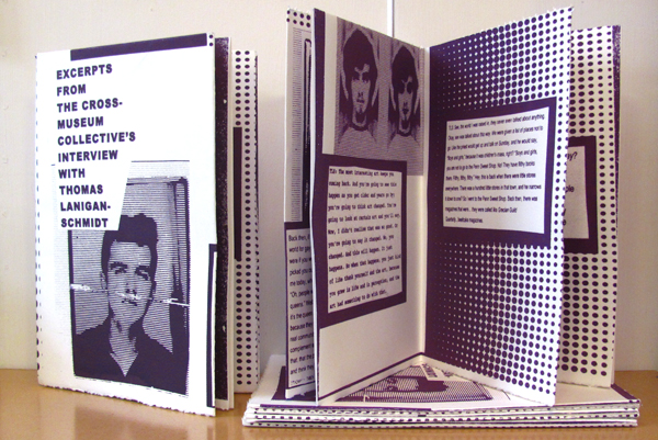 The Thomas Lanigan-Schmidt limited edition zine
