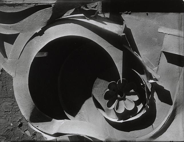 "Walker Evans. Tin Relic. 1930. Gelatin silver print. 5 7/8 x 7 1/16"" (15 x 18 cm). Purchase. © 2013 Walker Evans Archive, Metropolitan Museum of Art"