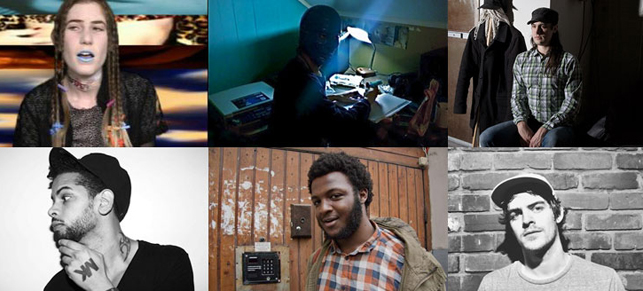 "James K; Gobby; Pete Swanson; Ryan Hemsworth; XXYYXX; Mark ""MK"" Kinchen"