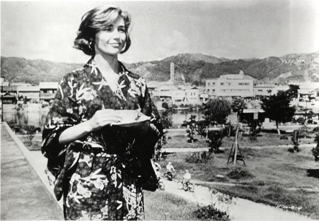 Emmanuelle Riva in Heroshima, mon amour. 1959. France. Directed by Alain Resnais
