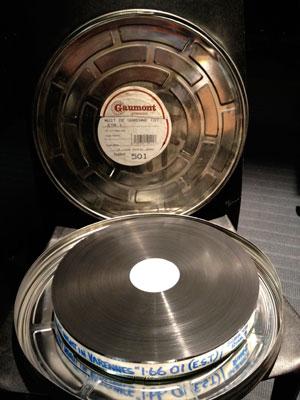 35mm reels of Ettore Scola's La nuit de varennes