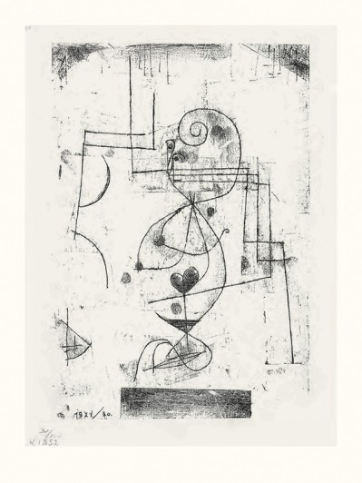 Paul Klee. <i>Queen of Hearts</i>. 1921.