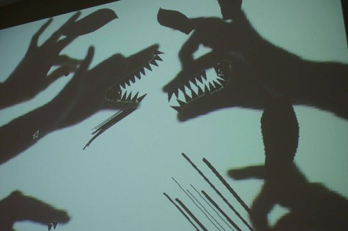 Philip Worthington. Shadow Monsters. 2004