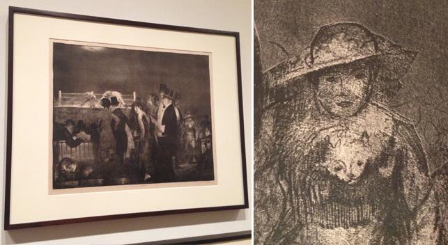 George Bellows. Preliminaries. 1916
