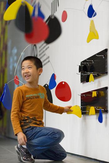 MoMA Art Lab: Movement. Photo: Martin Seck