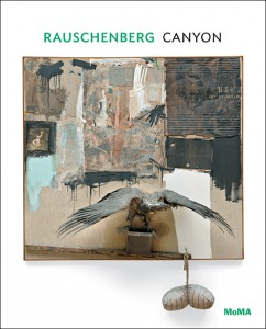Cover of Raushenberg: Canyon by Leah Dickerman, published by The Museum of Modern Art