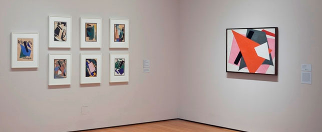Installation view of the fifth-floor Alfred H. Barr Painting and Sculpture Galleries, The Museum of Modern Art, summer 2013. Photo: John Wronn
