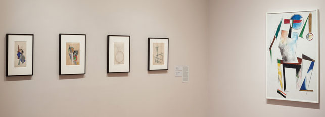 A view of Russian avant-garde works in MoMA's fi