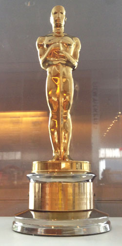 The Museum of Modern Art, Department of Film Academy Award. 1978. Gold-plated britannium on a brass base