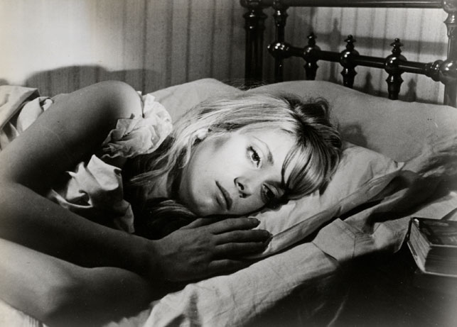 Catherine Deneuve in Repulsion. 1965. Great Britain. Directed by Roman Polanski