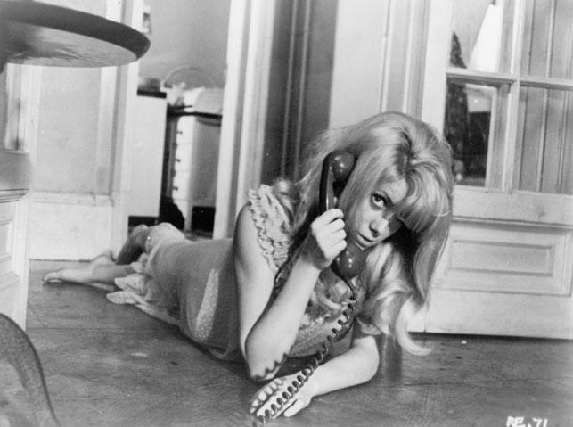 Catherine Deneuve in Repulsion. 1965. Great Britain. Directed by Roman Polanski