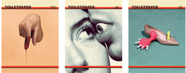 A selection of Toiletpaper covers