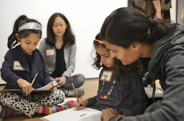 Family Programs at MoMA. Photo: Martin Seck