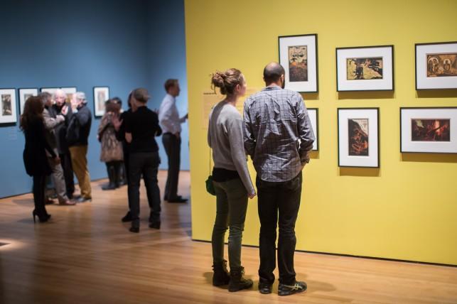 Installation view, Gauguin Metamorphoses at The Museum of Modern Art, Photo: Scott Rudd