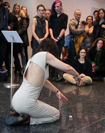 Lizzi Bougatsos participates in Performing John Cage