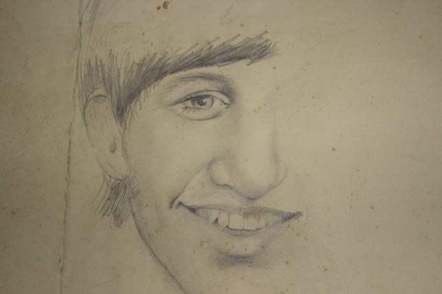 Portrait of Ringo Starr, by Karni Krikoryan