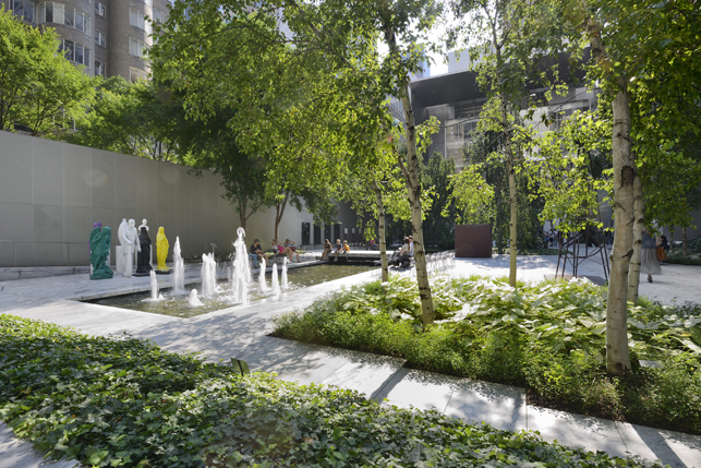 The Abby Aldrich Rockefeller Sculpture Garden. Photo: Martin Seck