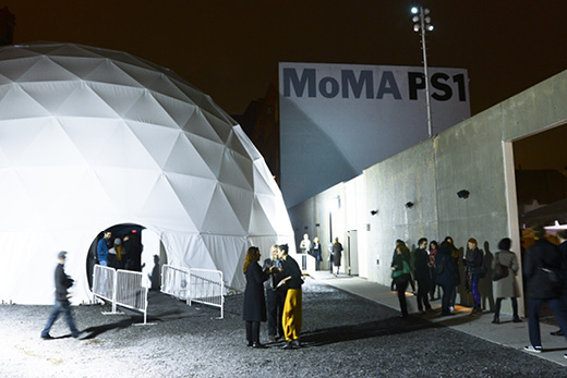 Night at the Museum at MoMA PS1. Photo © 2014 MoMA PS1