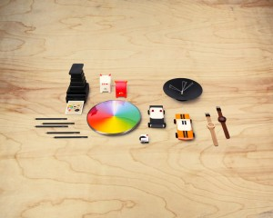 The Kickstarter@MoMAStore collection includes 24 new products made by 20 international designers