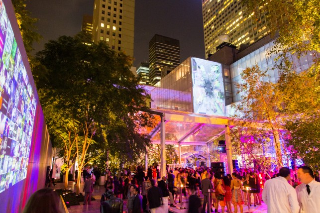 The Museum of Modern Art's Party in the Garden on May 21 in New York. Photo: Scott Rudd