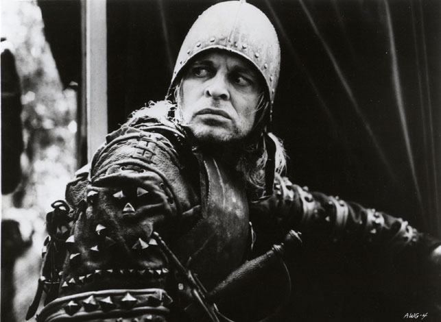 Klaus Kinski in Aguirre, the Wrath of God. 1973. West Germany. Directed by Werner Herzog
