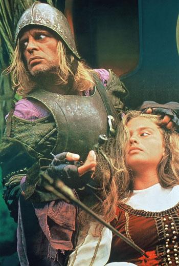 Klaus Kinski in Aguirre, the Wrath of God. 1973. West Germany. Directed by Werner Herzog